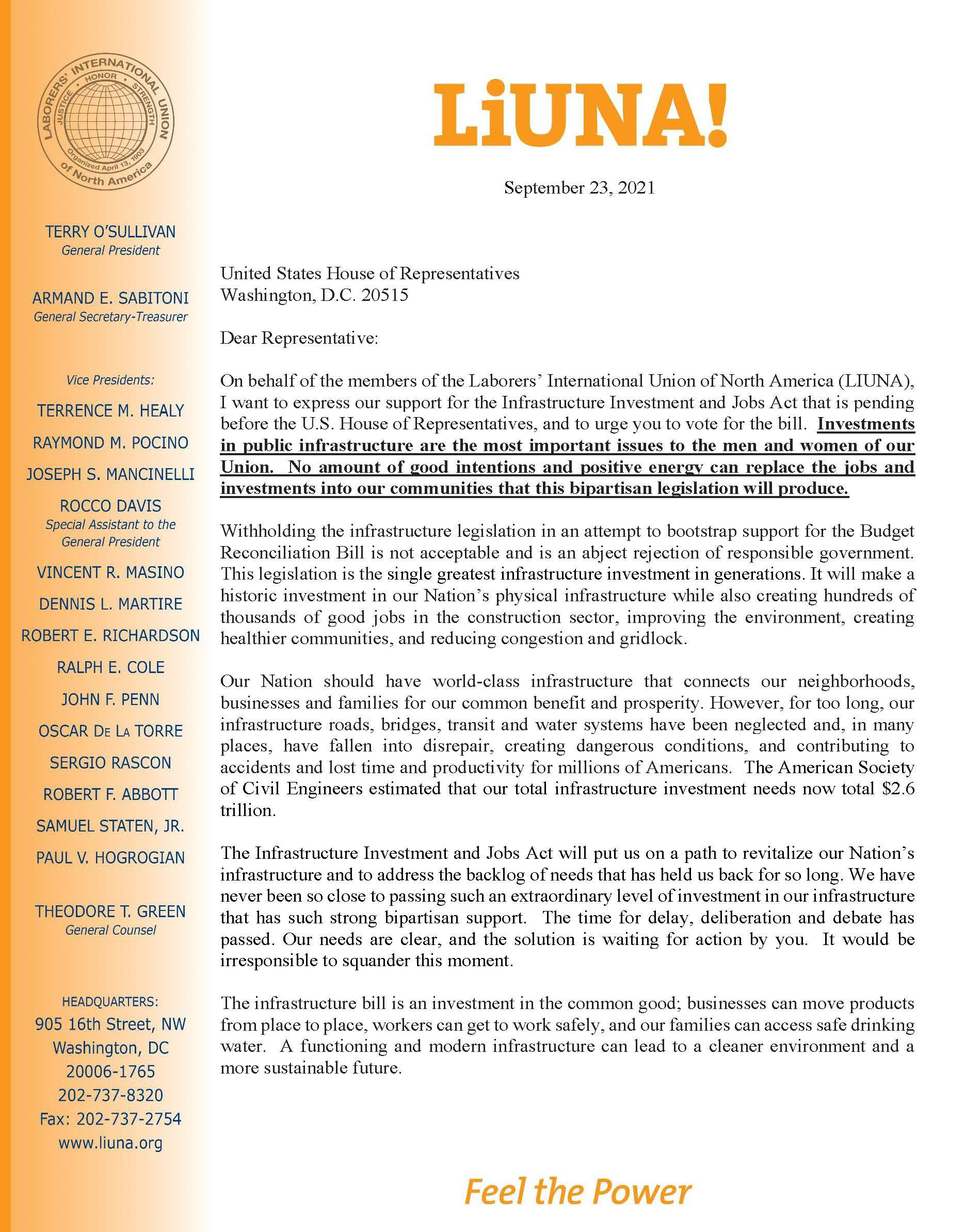 Infrastructure Investment & Jobs Act Ltr to House Sept 23 2021 (1)_Page_1.jpg