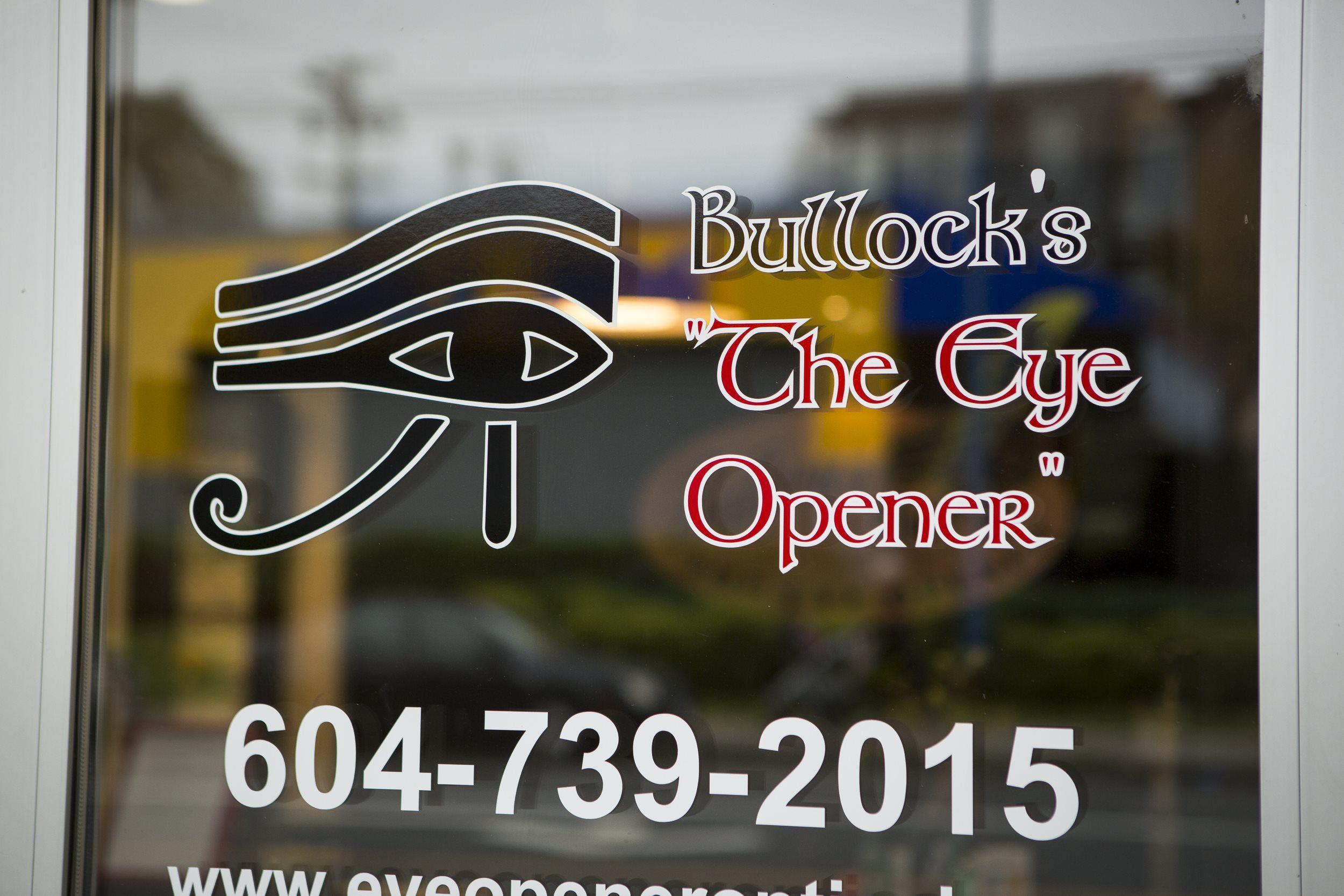 Bullock's The Eye Opener