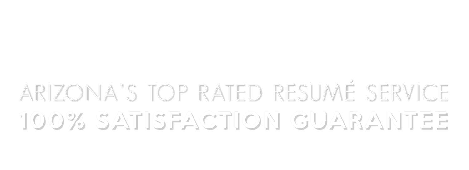 Arizona\'s Top Rated Resume Service - Perfect Resumé - An Award ...
