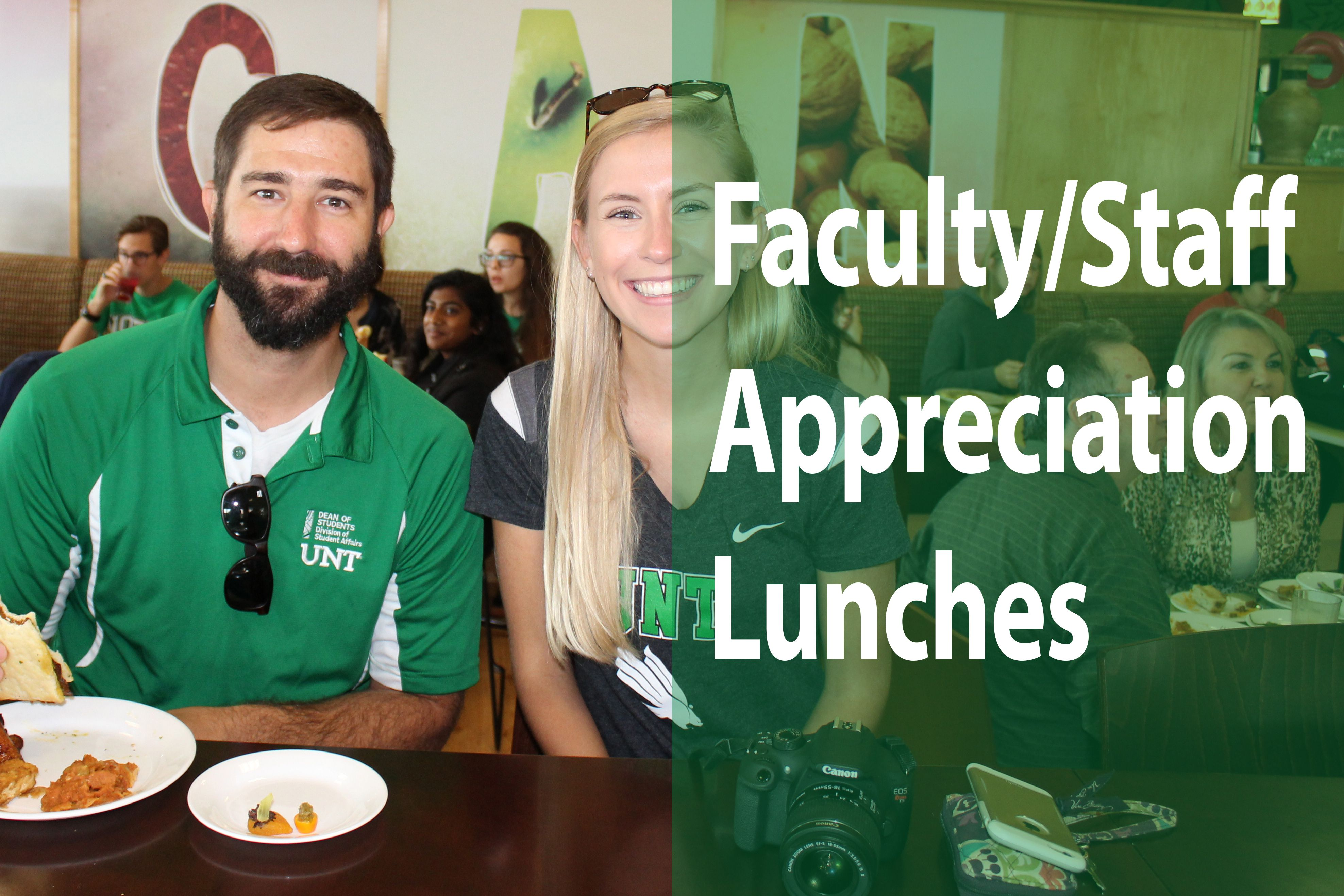 Faculty/Staff Appreciation Lunches