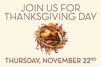 thanksgiving day champagne buffet thursday november 22nd the