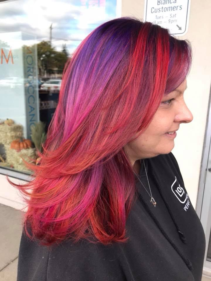 Fall Color By Melanie La Salon Bianca Rochester Ny