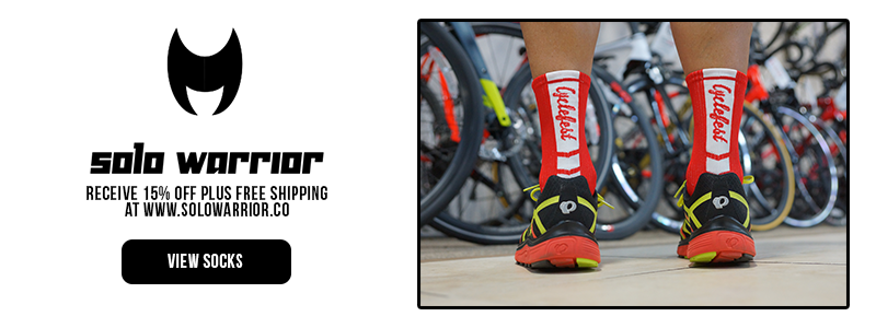 Buy New Cycling Socks with Solo Warrior