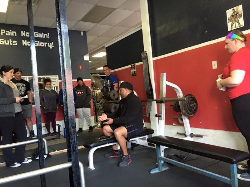 Train like you mean it big tex gym