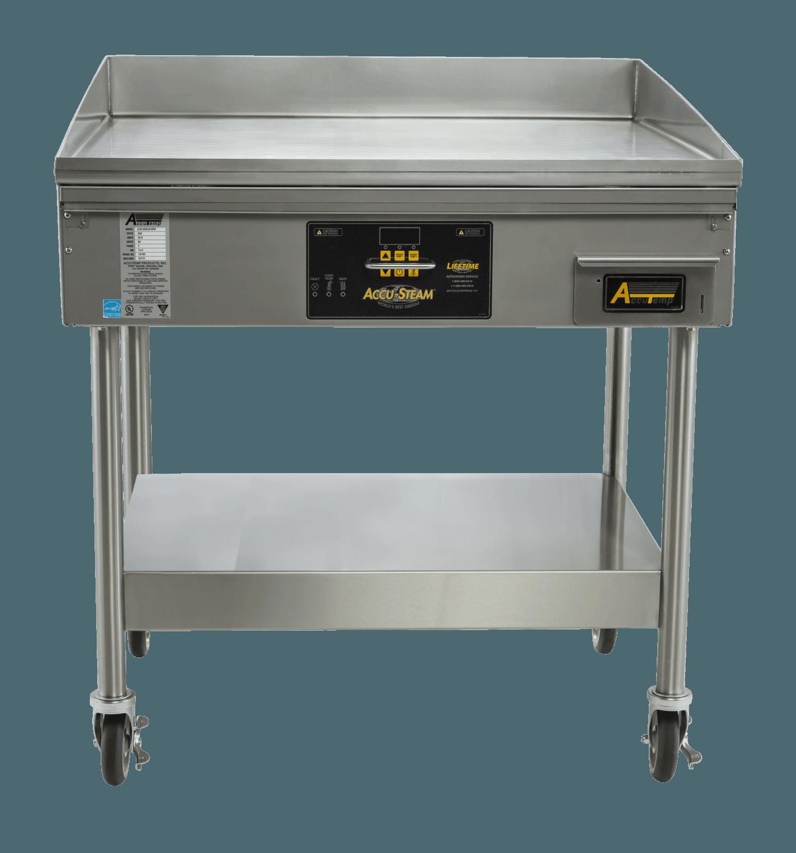 the accu steam griddle accutemp products inc