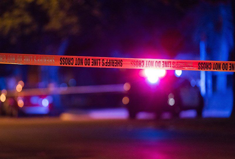 Sheriffs Line Do No Cross Crime Scene