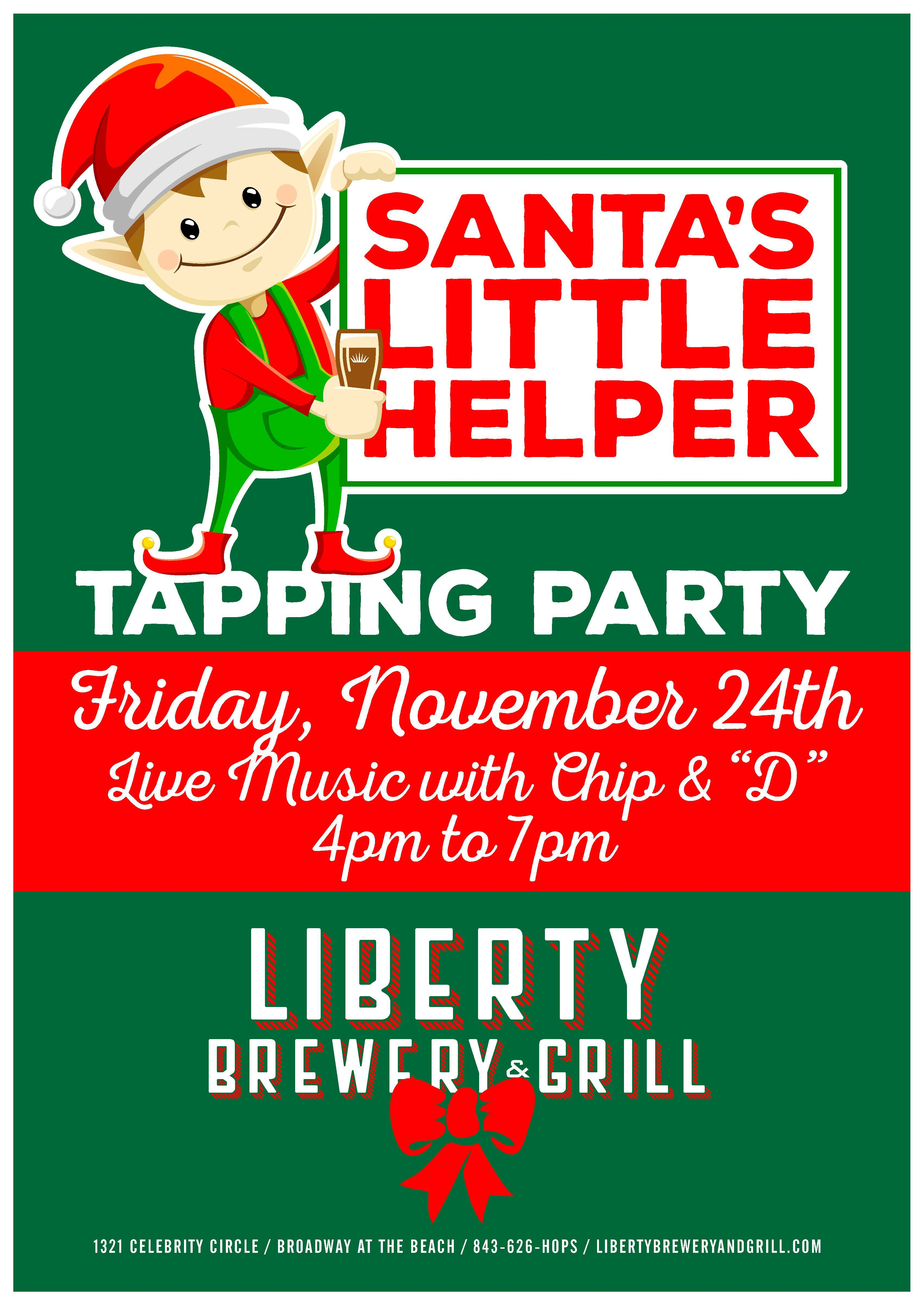 (300) Liberty Brewery santa's little helper tapping party.jpg