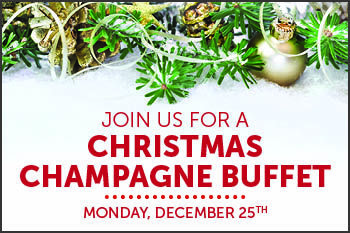 eat drink be merry at our christmas day champagne buffet december 25th 2017