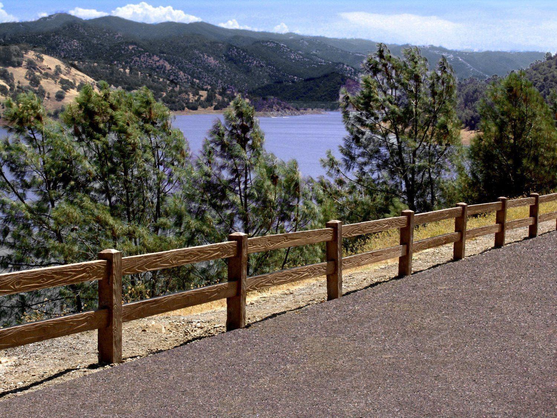 Woodcrete ranch rail