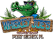 whiskey joe's bar & grill port richey fl logo