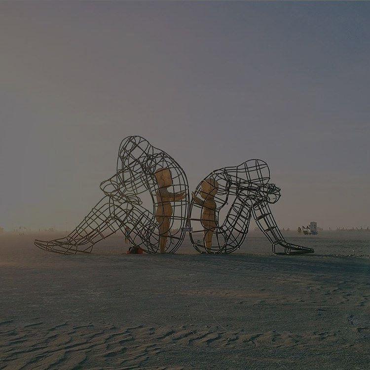 wire frame sculptures