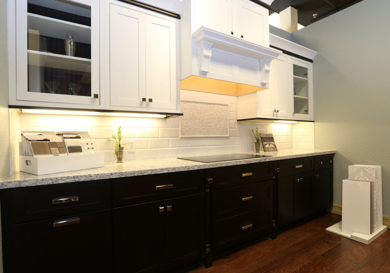 kitchen lights and floor tile