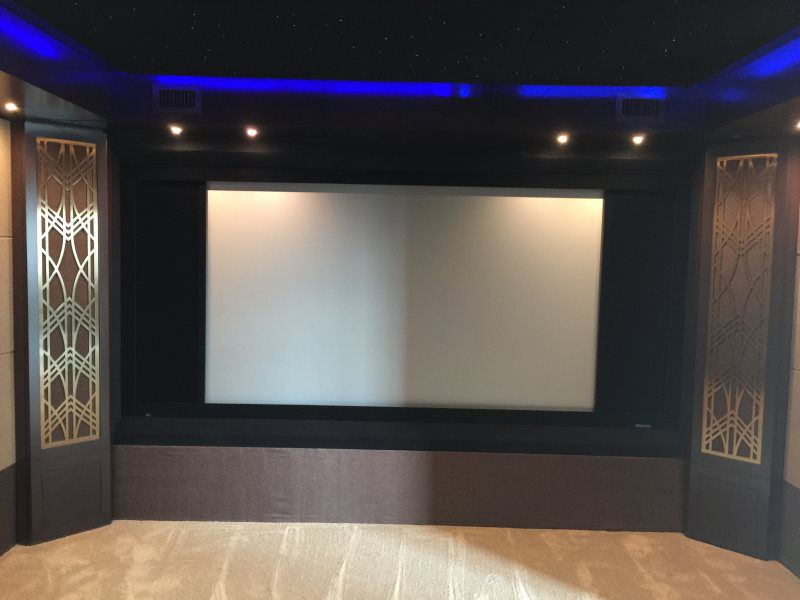 Home Theater Gallery - Caveman Home Theaters