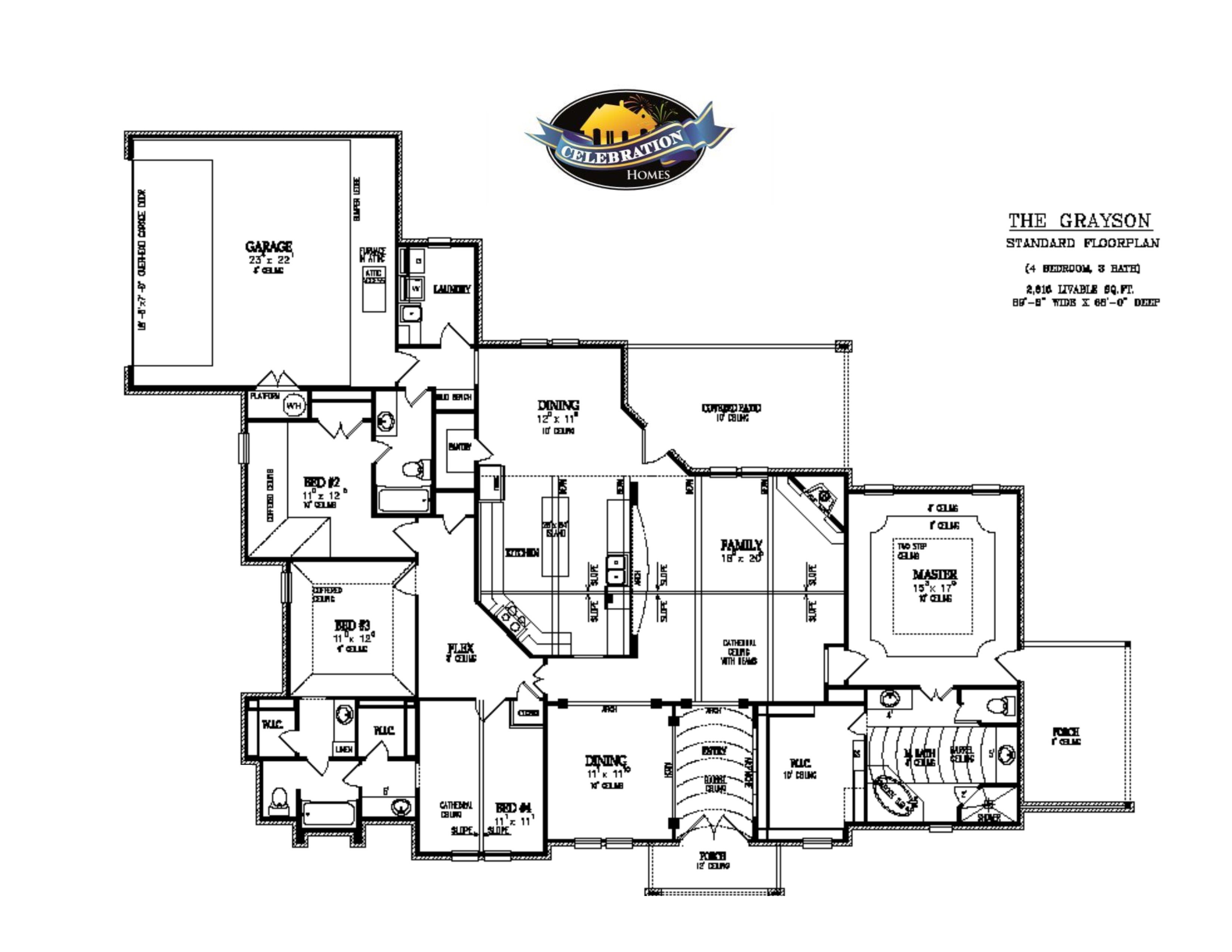 country living floor plans celebration homes of lubbock