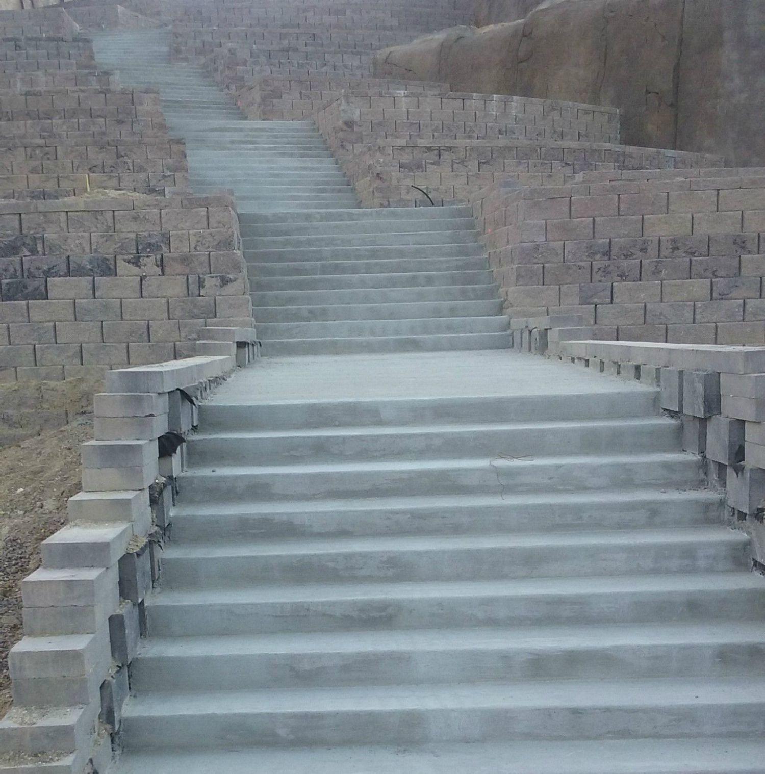 Steps Concrete Paving