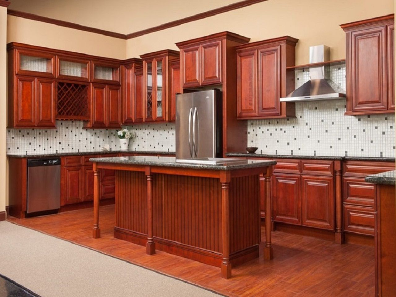 Gallery quebec kitchens for Kitchen cabinets quebec