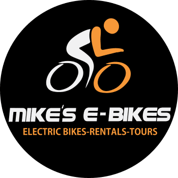 mike's e-bikes logo