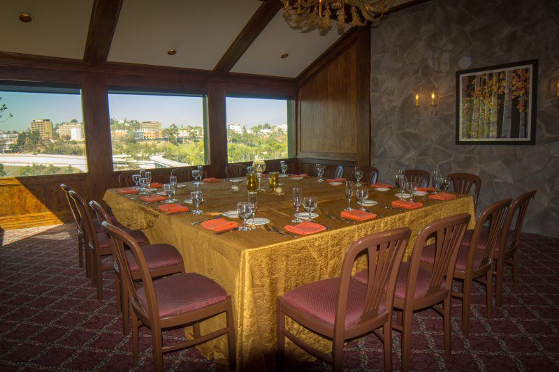 Upper and Lower Dining Room