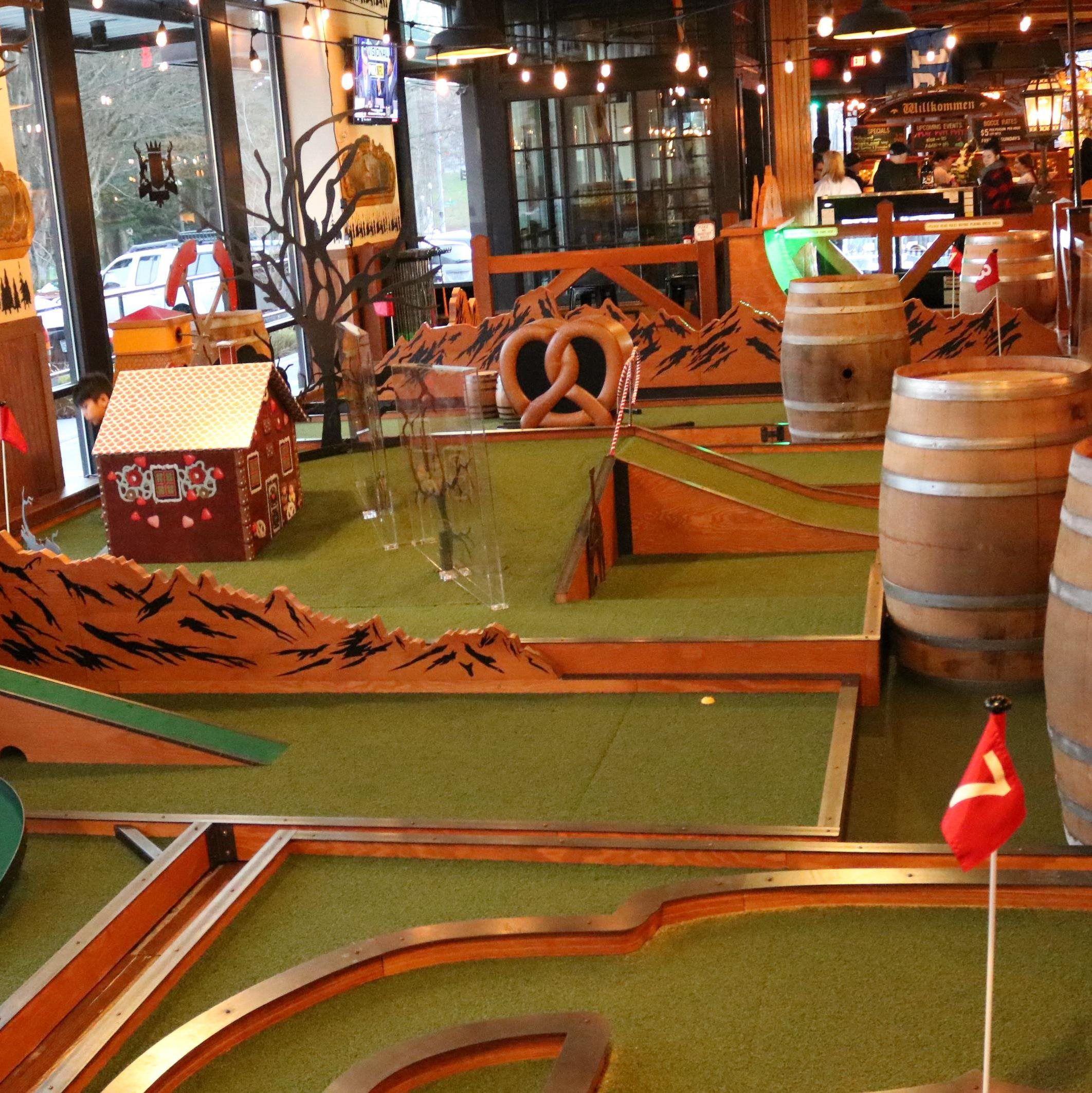 Bocce Putt Putt - Rhein Haus Restaurant, Bocce Haus, & Bier Hall