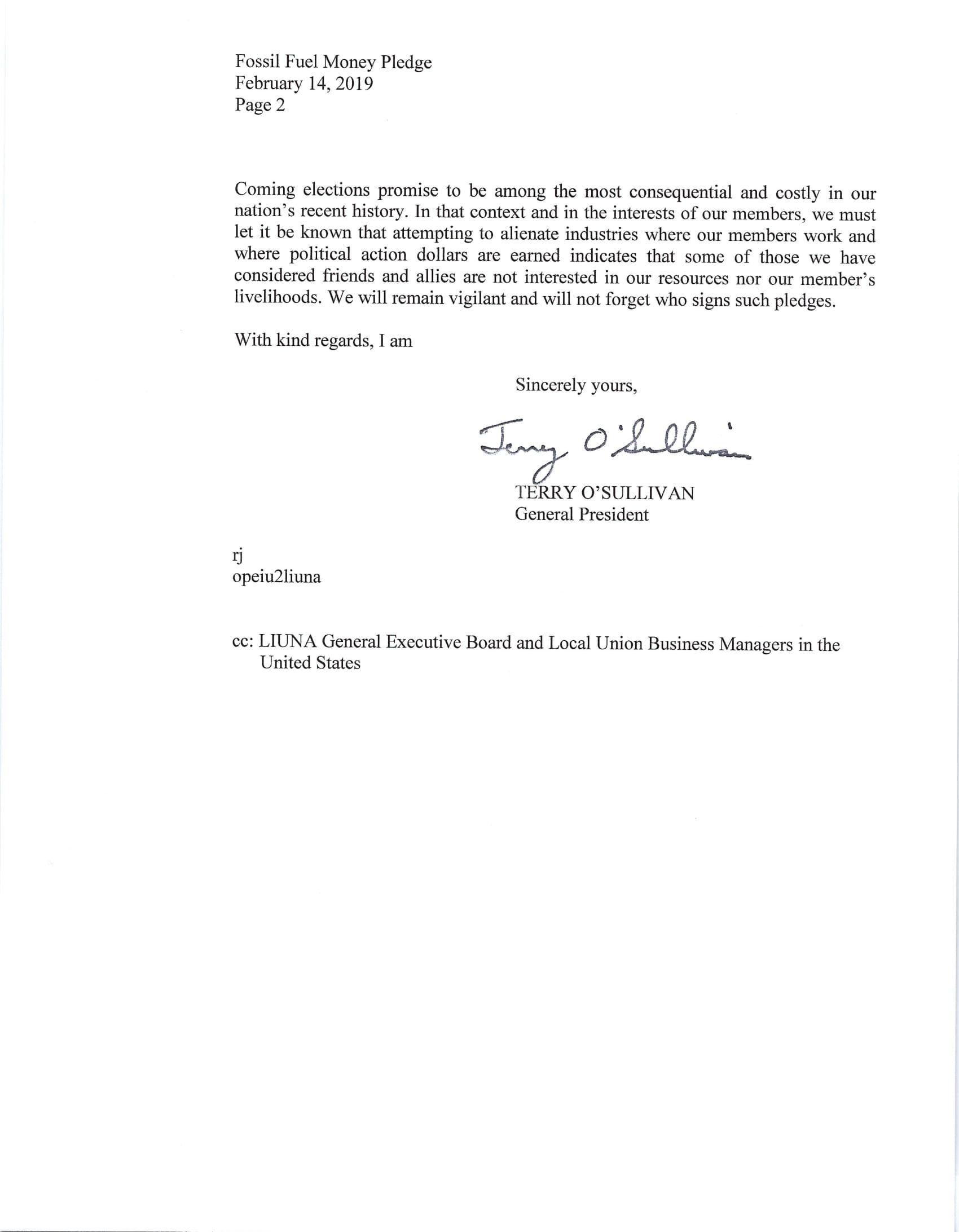 House Fossil Fuel Money Pledge Ltr Feb 2019-2.jpg