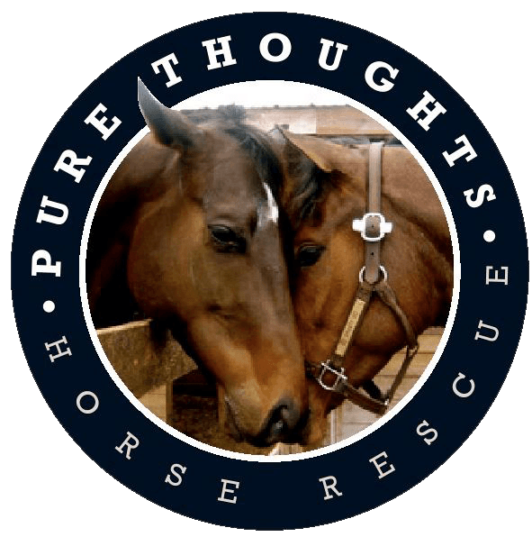 Pure Thoughts Horse Rescue, Inc. Logo