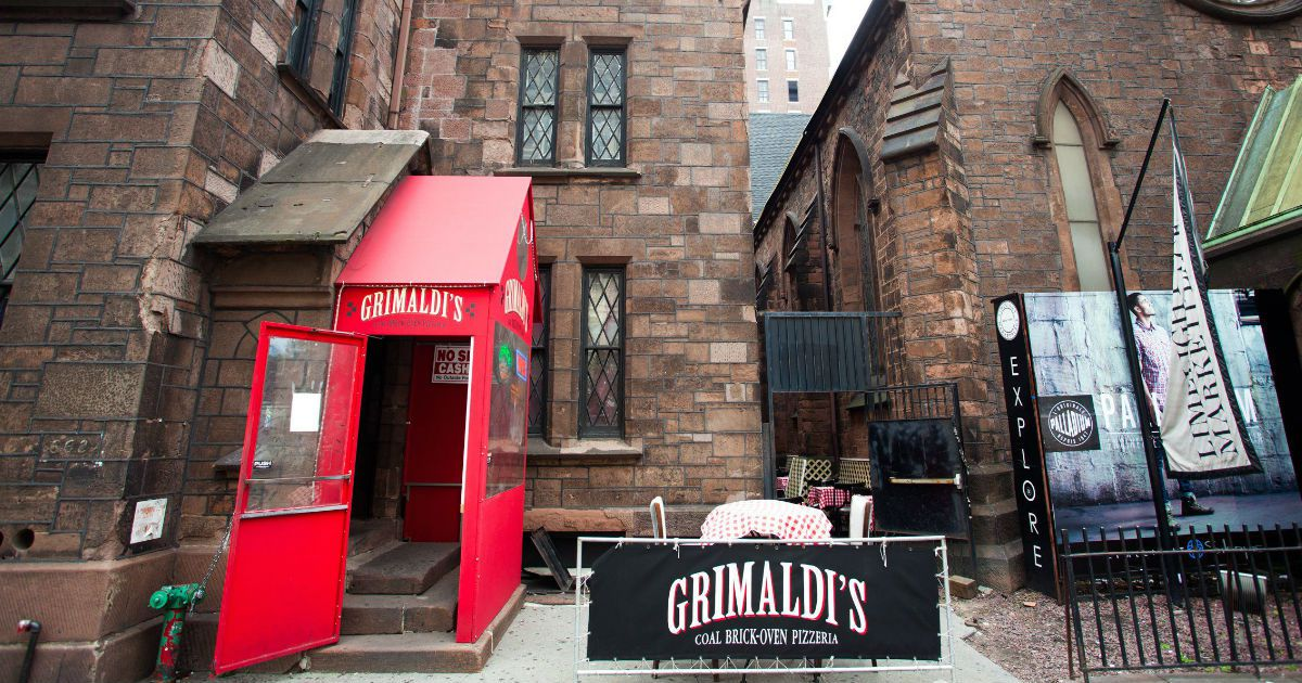 Image result for grimaldi's pizza nyc chelsea