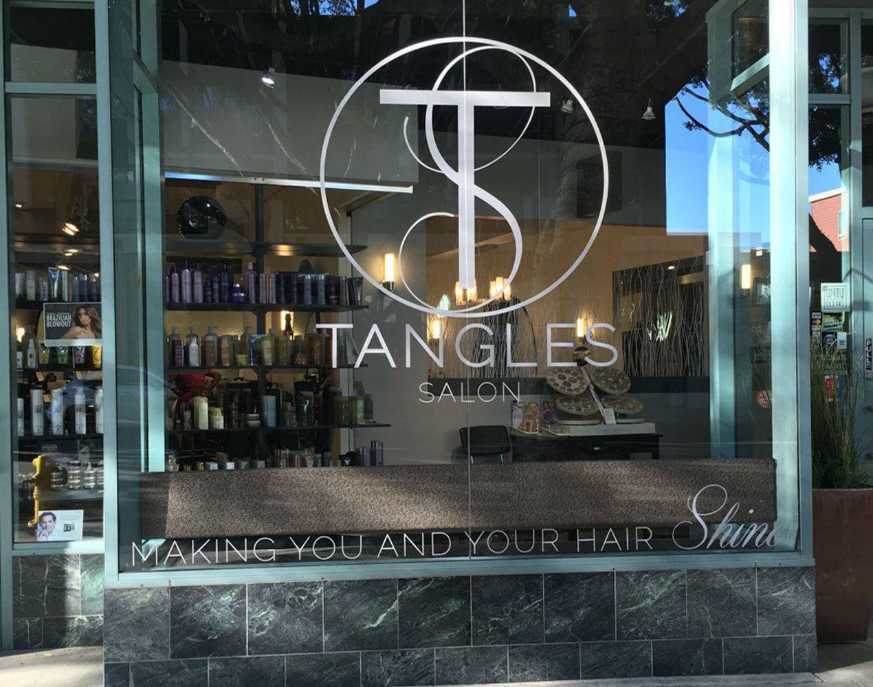 Home Tangles Salon Pasadena