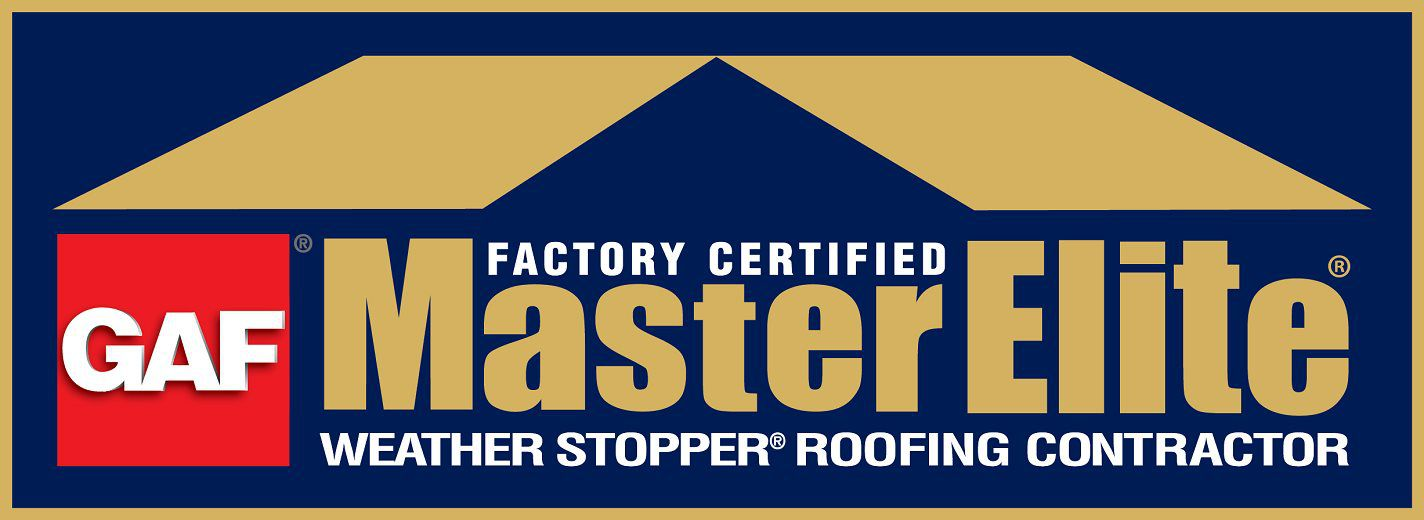 GAF Master Elite factory certified logo