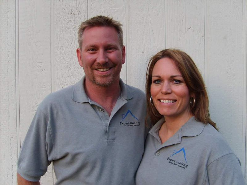 expert roofing founder jim renfro and wife