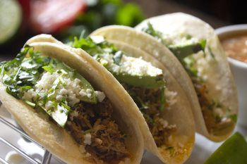 Chili Rubbed Pulled Pork Tacos