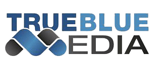 true blue media group logo