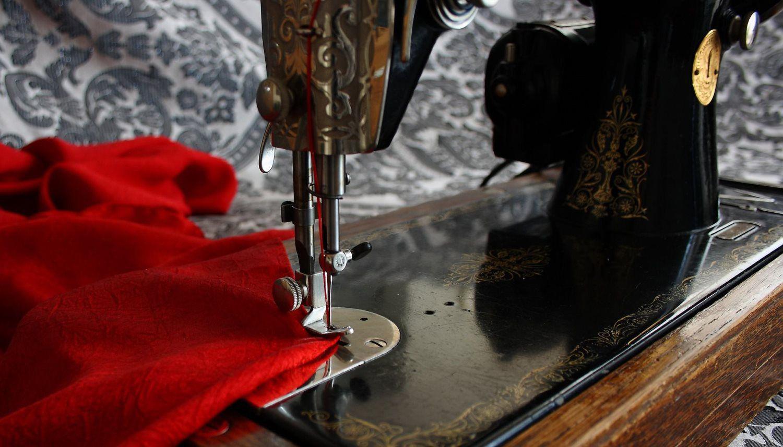 sawing dress