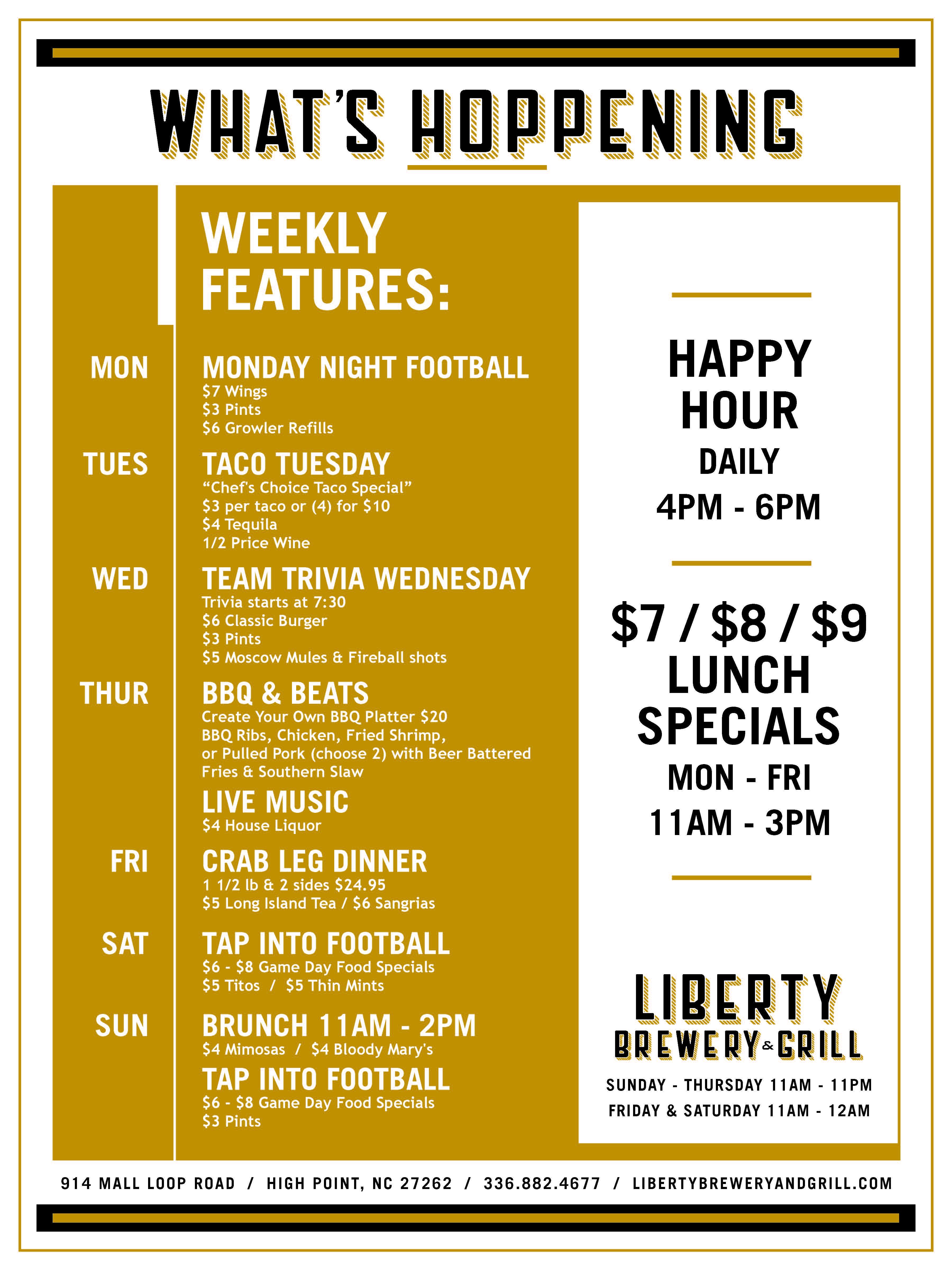 (300) Liberty Brewery High Point Daily Specials Calendar (005).jpg