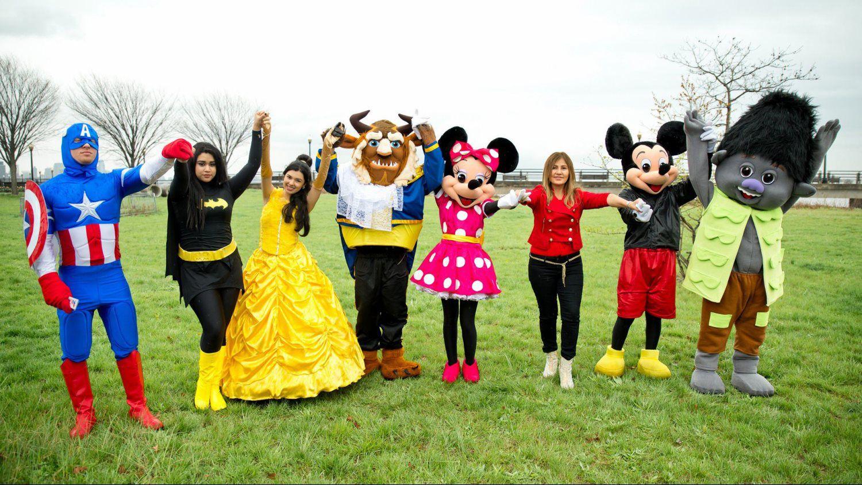 Rosario Star Disney And Marvel Costumes