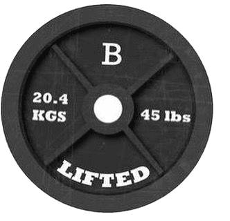 B lifted Logo