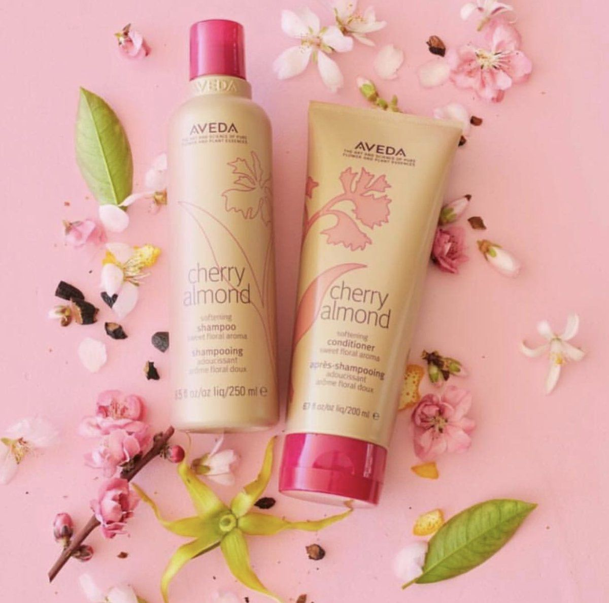 Image result for cherry almond aveda