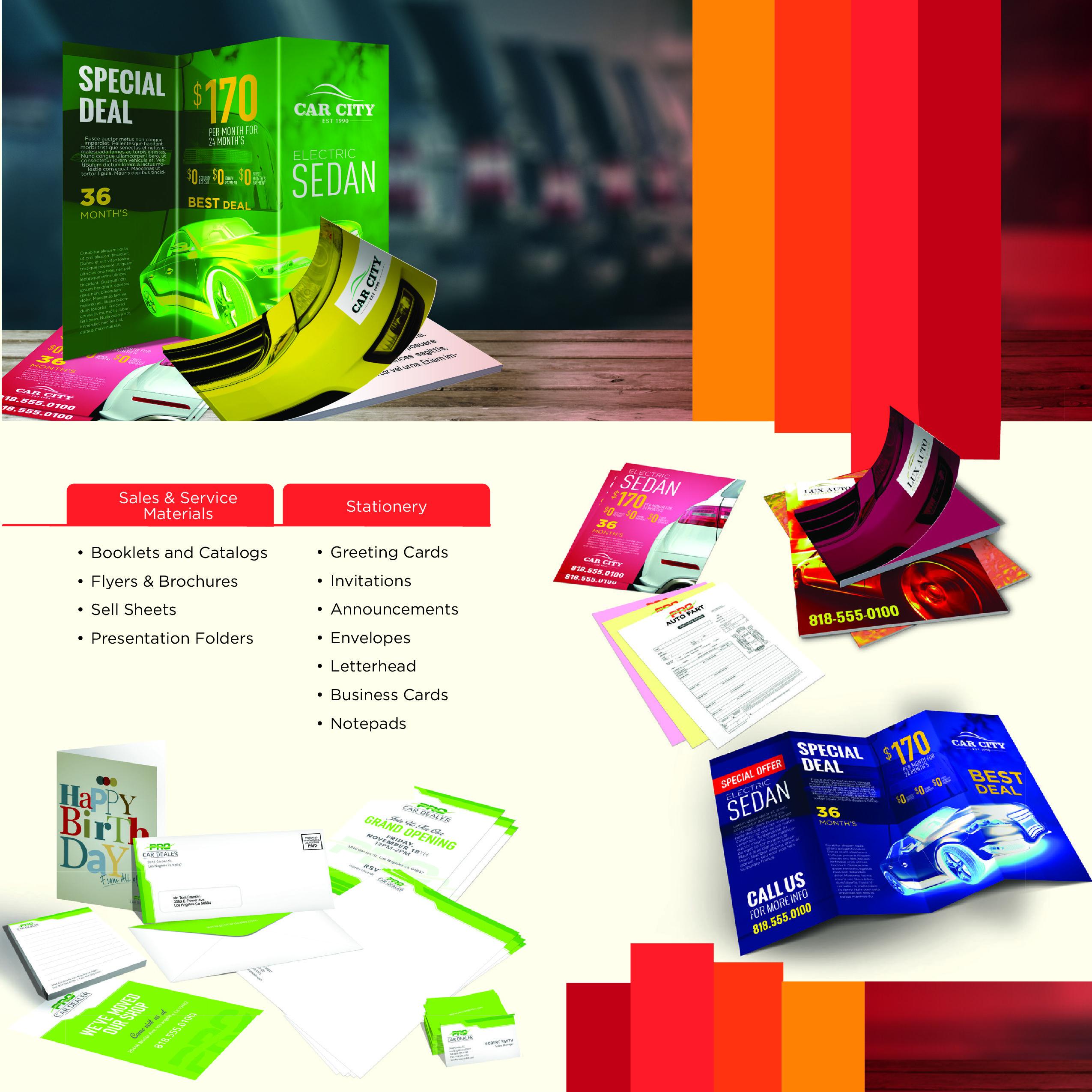 marketing materials, design & more - big media - think big