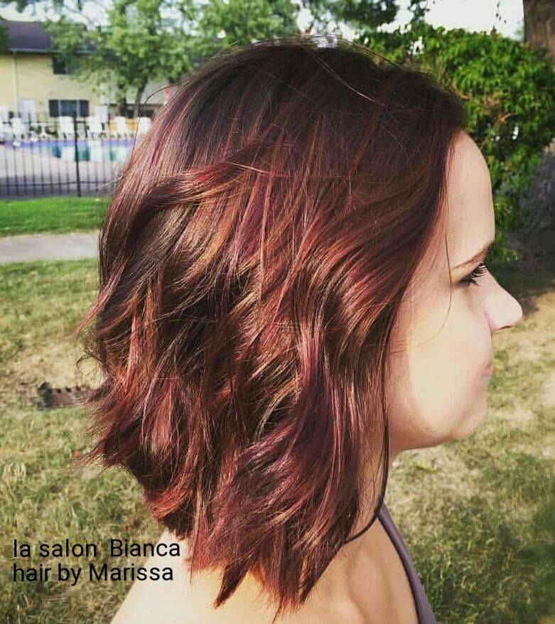 Check Out This Gorgeous Hair Color Done By Our Master Stylist