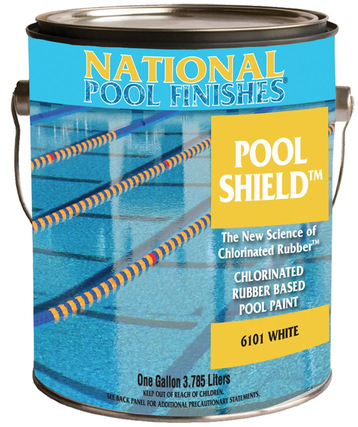 Pool Shield Chlorinated Rubber Pool Paint National Pool