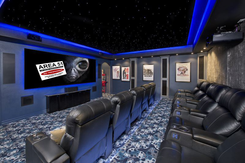 Home Entertainment Company Caveman Home Theaters