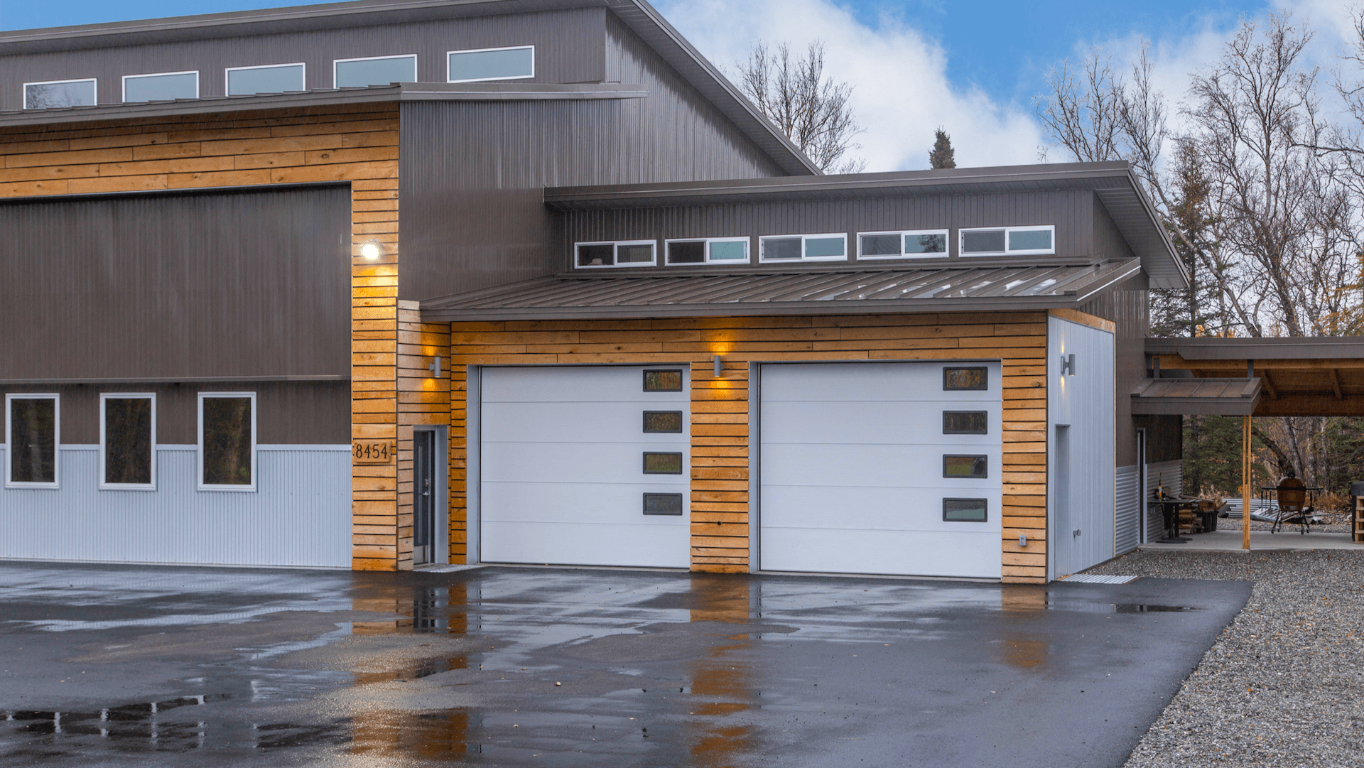 Residential ICF Hangar Home Construction by Remote Alaska Solutions