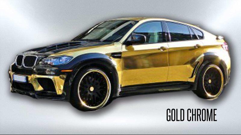 gold chrome
