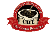 Bj's Coffee Roasters Logo