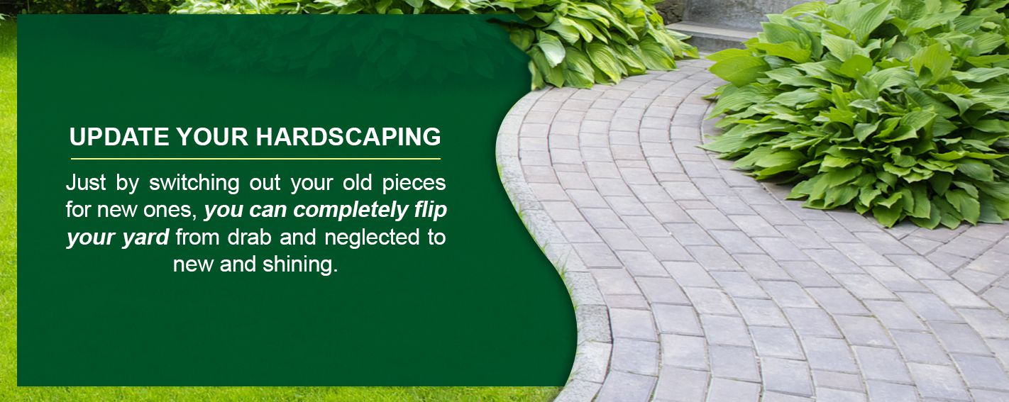 Update Your Hardscapes and Sidewalks