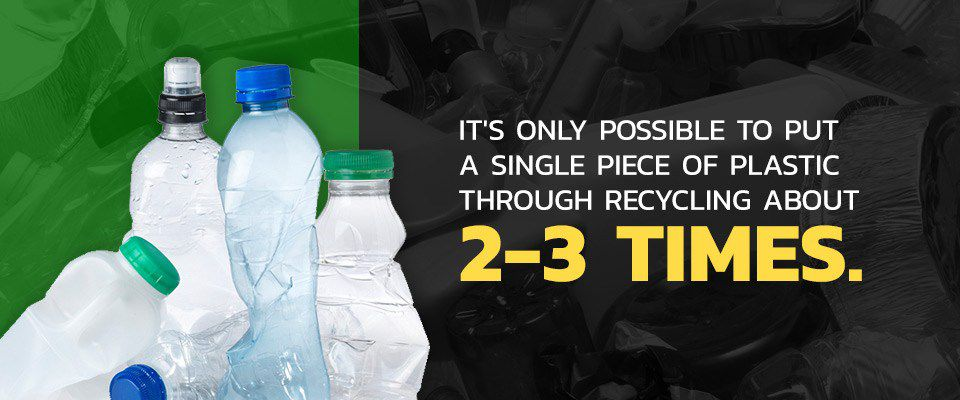 Plastic Can Only be Recycled 2-3 Times