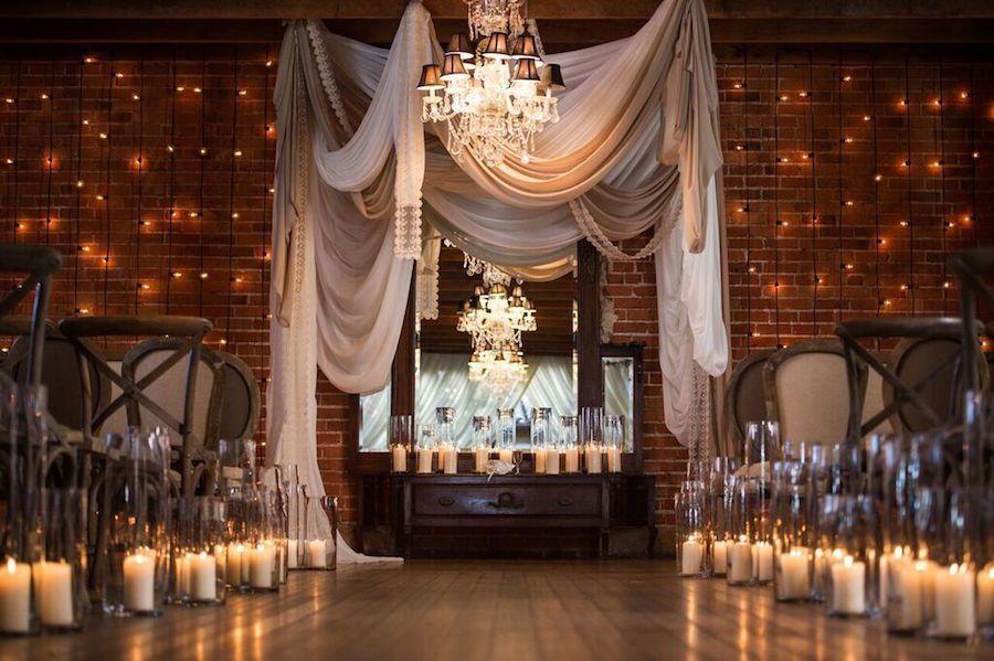 Romantic Candlelit Carondelet House Wedding Trs La Catering