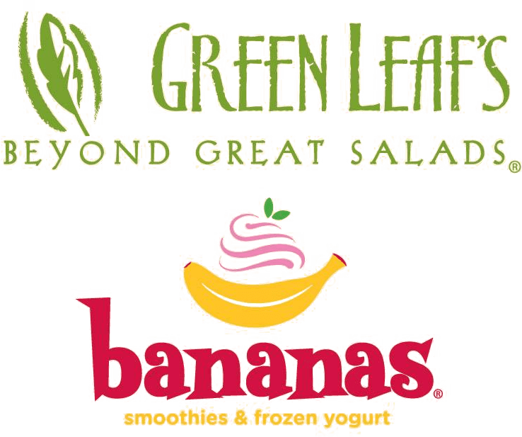 Green Leaf's & Bananas Logo