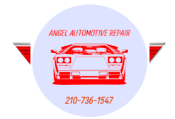 angel automotive repair logo