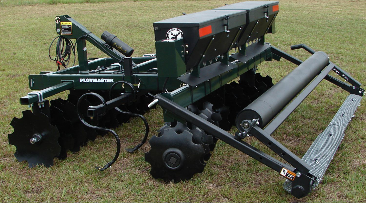 Tractor Implements And Attachments : Food plot tractor tillage equipment implements for sale