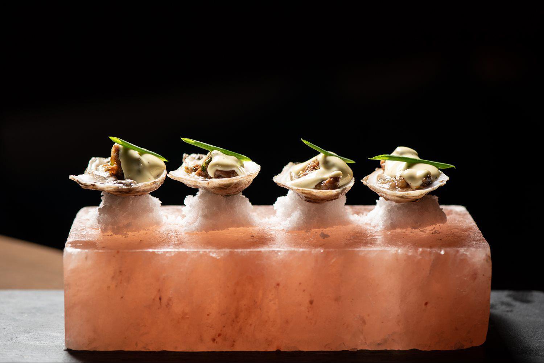 Salt Block Oysters